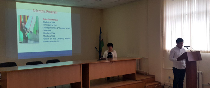 The first meeting of the Asian Medical Students Association (AMSA) Uzbekistan