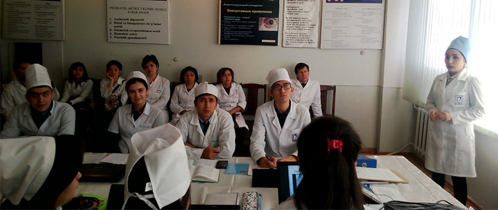 Was organized open lesson on the theme of «Systemic lupus erythematosus""