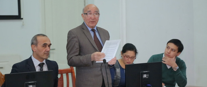 "The conference was held on the theme ""Top master research project"""