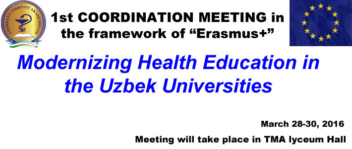 "1st COORDINATION MEETING in the framework of ""Erasmus+"" project"