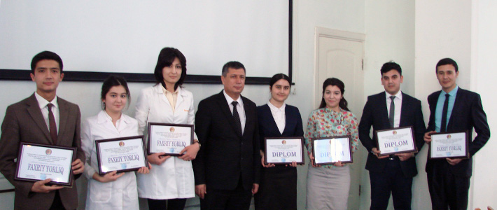 """It was held the Vth students conference """"Healthy people, healthy nation – able to the great works"""""""