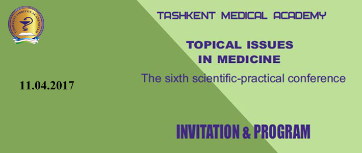 "Welcome to the VI conference ""Topical issues in medicine"""